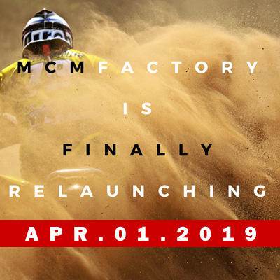 MCM Factory is finally relaunching Feb 26 2018
